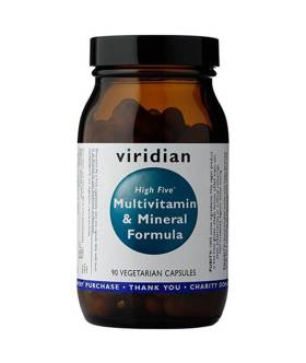 High Five Multivit & Mineral Formula (90 kaps) - Viridian